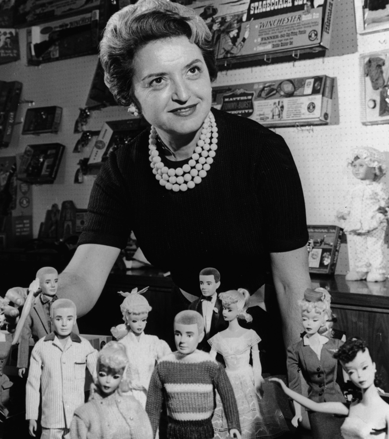 1960s_ruth-handler_barbie-and-ken_dolls
