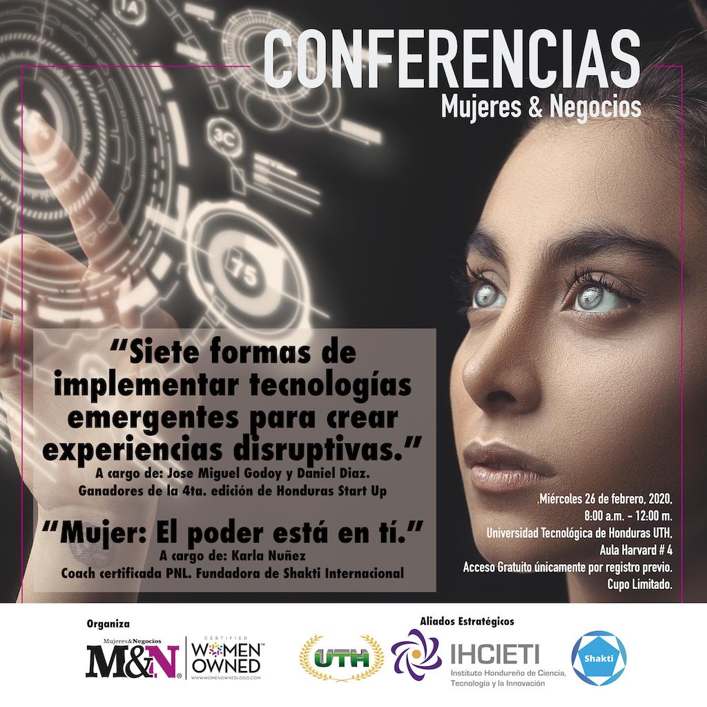 Conferencia Mujeres & Negocios
