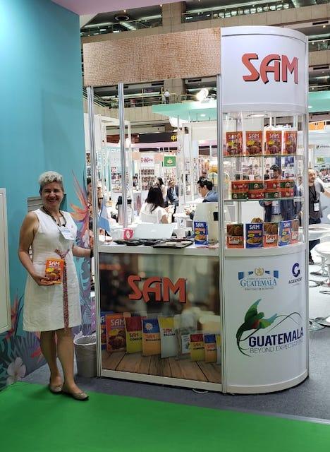 Issa Argueta, propietaria Alimentos SAM de Guatemala