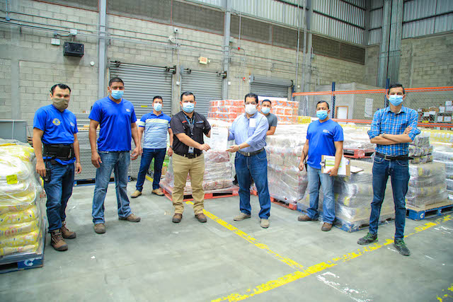 Donación de Walmart Honduras
