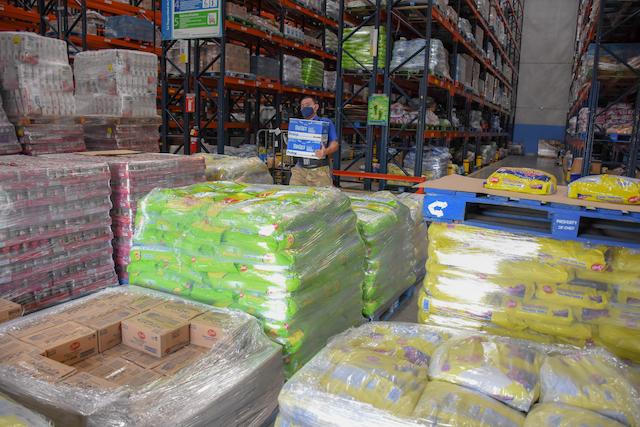 Donación de walmart por huracán ETA e IOTa