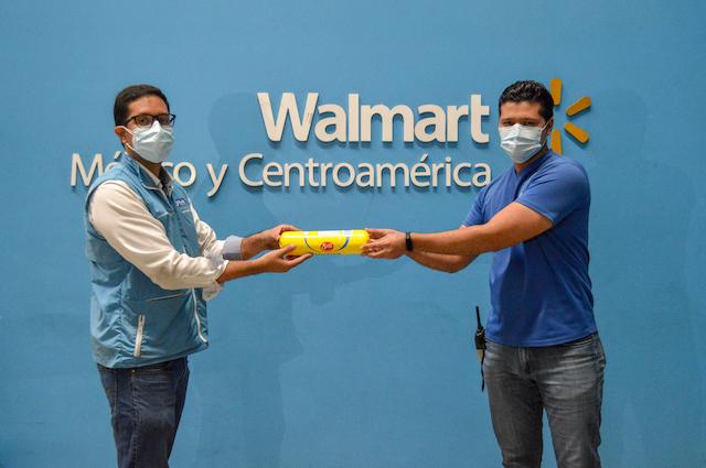 Walmart entrega importante donación