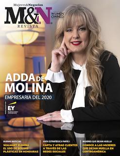 Adda de Molina, empresaria del 2020 by Mujeres & Negocios, patrocinado por EY